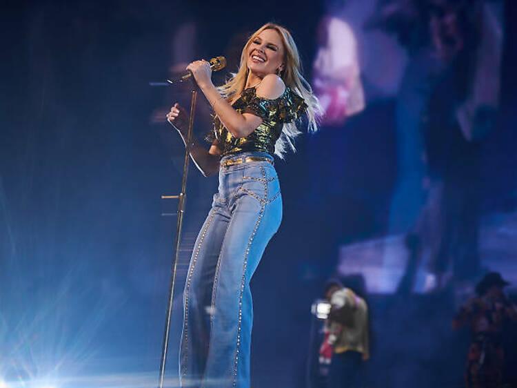 Kylie Minogue, concert únic a Espanya