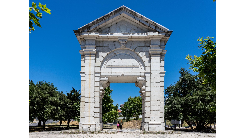 Arco de São Bento, Praça de Espanha