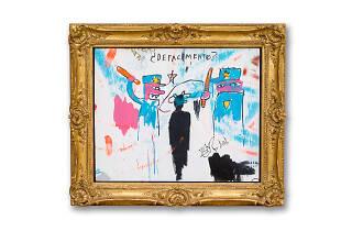 Jean-Michel Basquiat, Defacement (The Death of Michael Stewart), 1983