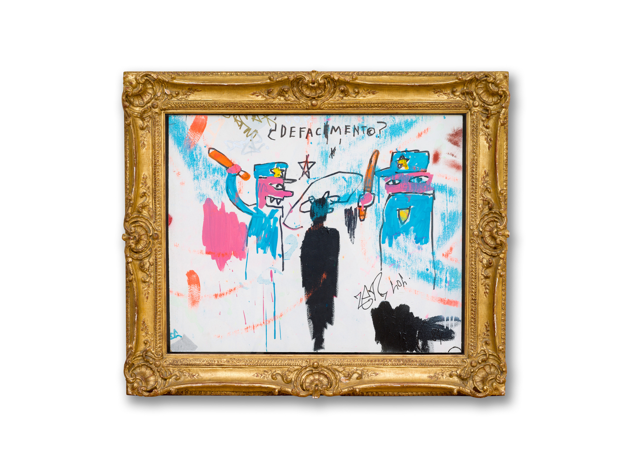 Jean-Michel Basquiat, Defacement (The Death of Michael Stewart), 1983