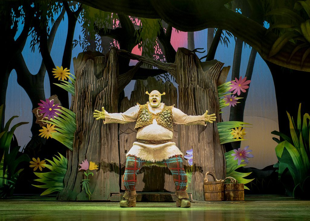 Shrek the Musical is bringing the swamp to Sydney