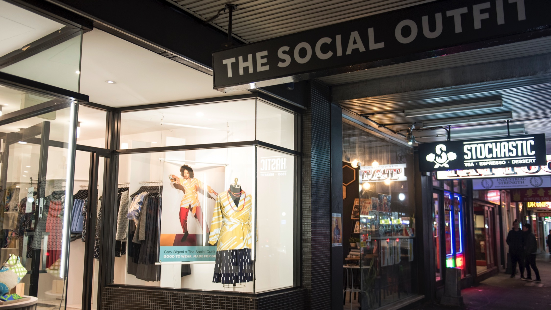 The Social Outfit