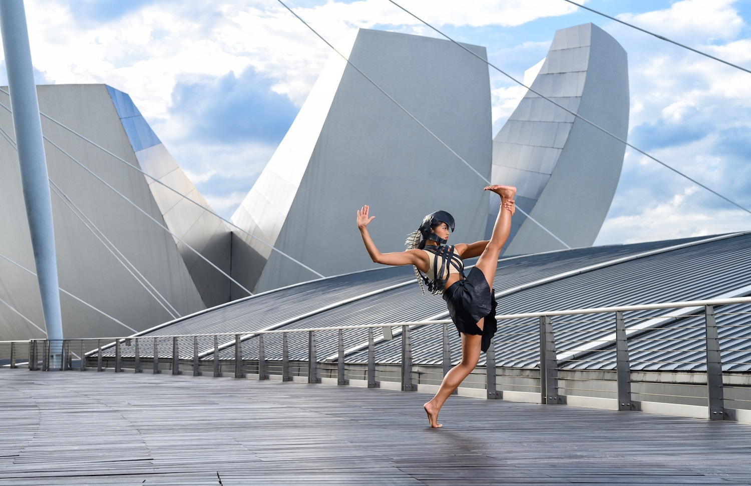 We interview Singapore dancer Adelene Stanley of the West End Zulu ballet INALA