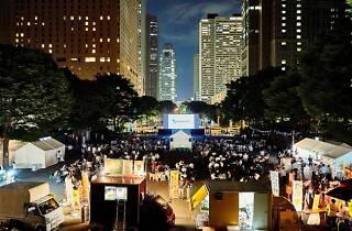 Screen@Shinjuku Central Park
