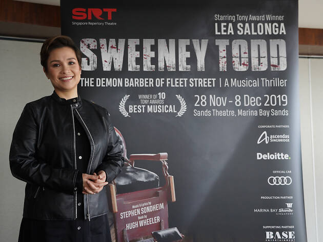 Sweeney Todd comes to Singapore with Lea Salonga