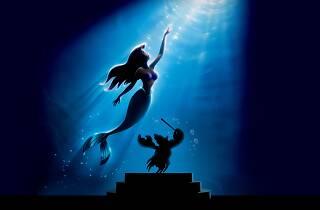 The Little Mermaid and Sebastian
