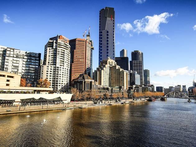 Yarra River Melbourne Southbank