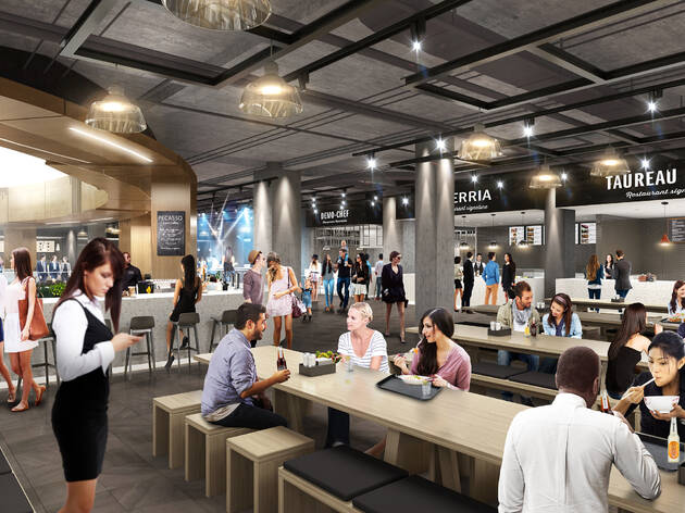 Time Out Market Montréal announces November 14 opening date, reveals final additions to stellar culinary lineup and an exciting mixology programme