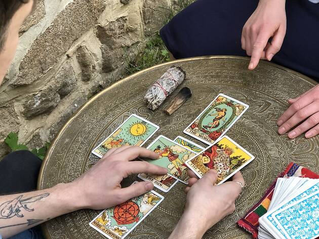 Tarot card reading at The Wellness Foundry, London