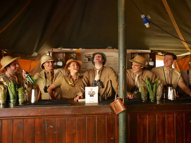 Time Out exclusive: drinks at Mr Fogg's Society of Exploration Safari Experience