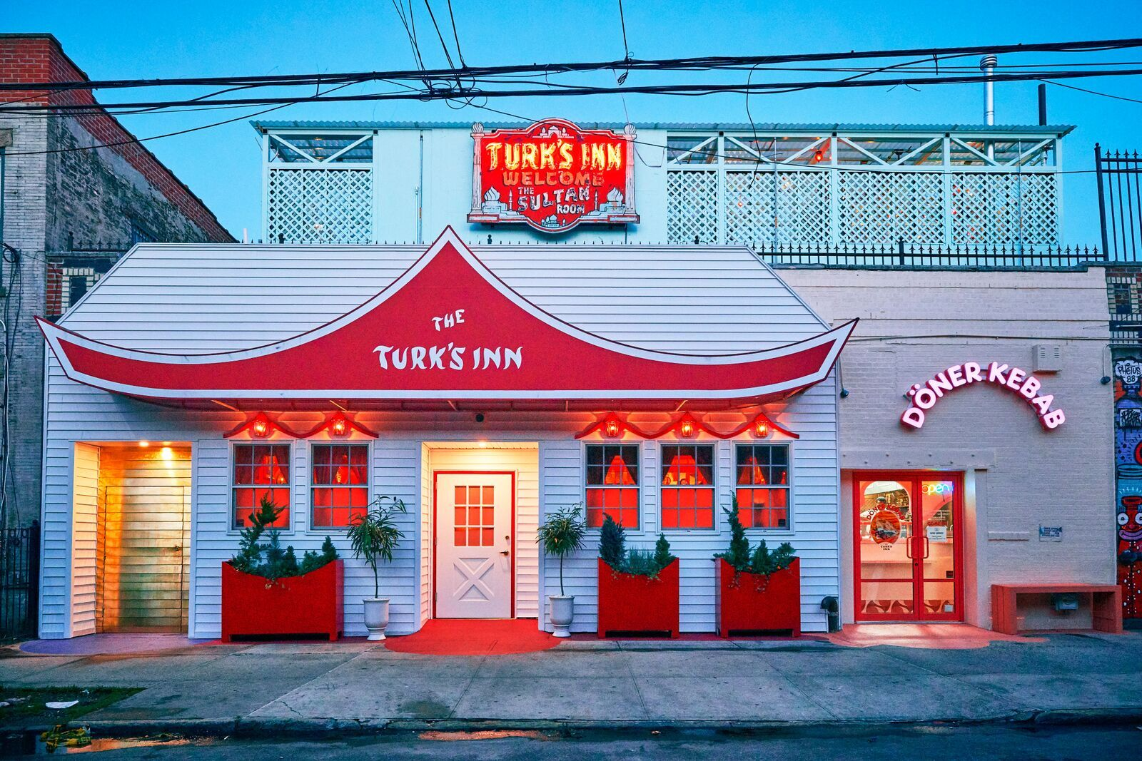Turk's Inn midwest supper club is revived as Bushwick restaurant and music venue