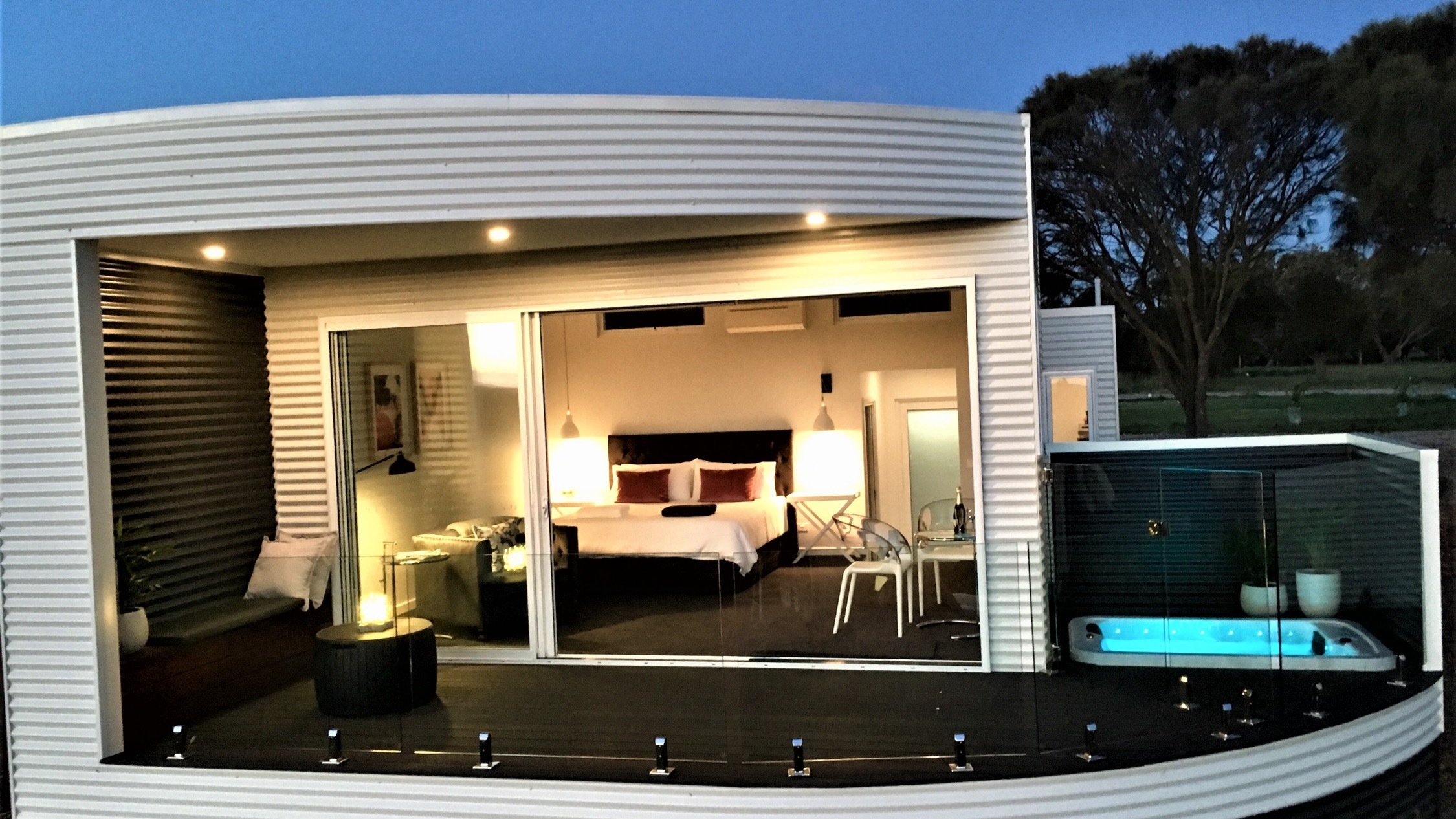 Exterior shot of the Nest Point Lonsdale