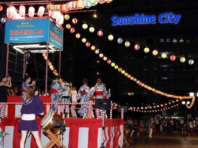 サンシャインシティ納涼盆踊り大会