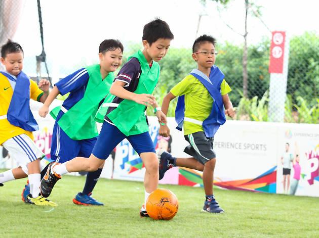 Sports Hub Community Play Day