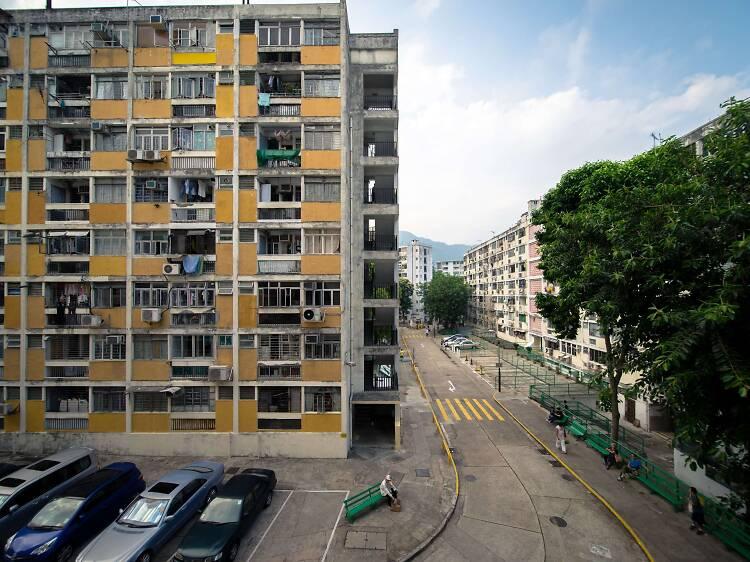 大坑西邨:逾半世紀屋邨