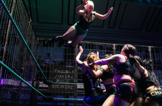 EVE and The Riot Grrrls of Wrestling present: Fights and False Lashes