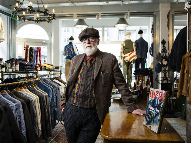 Wayne Kirven, London fashion icon
