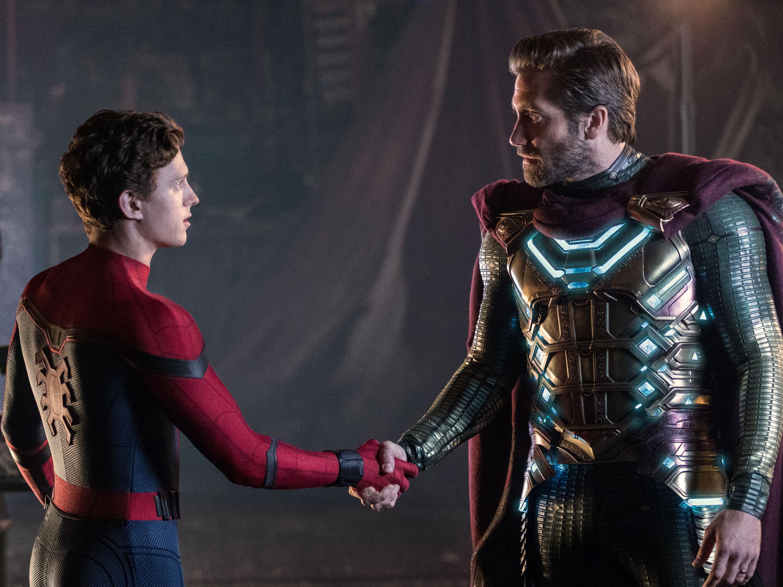 Spider-man: Lejos de casa, Mysterio