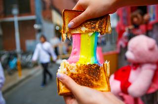 Sandwich de colores