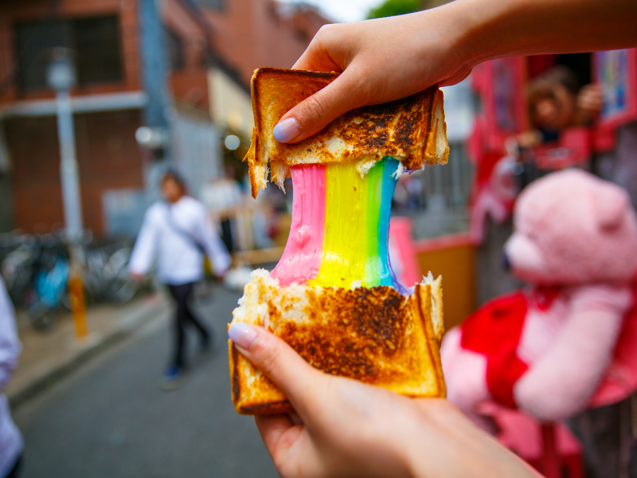 Comida para celebrar el mes LGBT+ en la CDMX