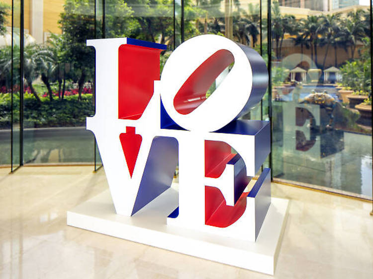 The American Love - Robert Indiana