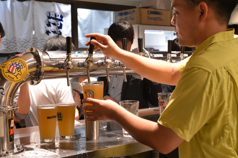 東京、立ち飲みできるクラフトビールバー5選