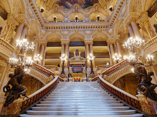The Grand Escalier at the Palais Garnier