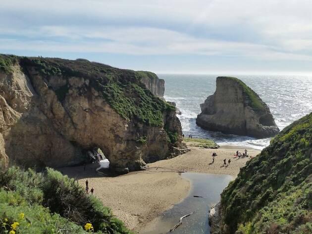 Shark Fin Cove, Santa Cruz