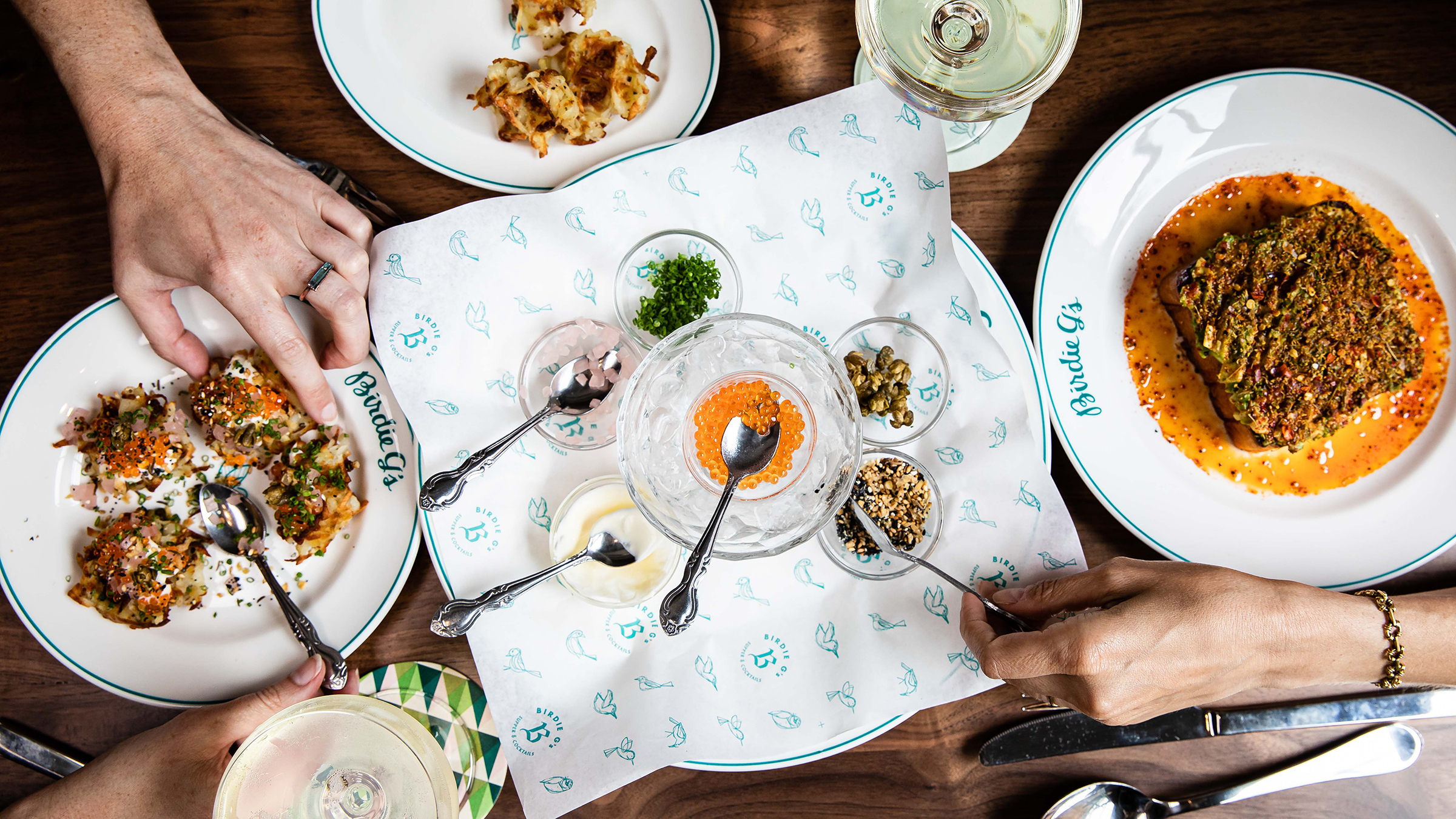 The Westside meets the Midwest at Jeremy Fox's new restaurant, Birdie G's