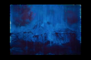 Lorna Simpson, Blue Dark, 2018