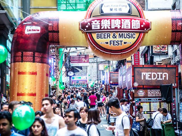 Lan Kwai Fong festival