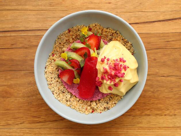 Porridge at Industry Beans Cafe