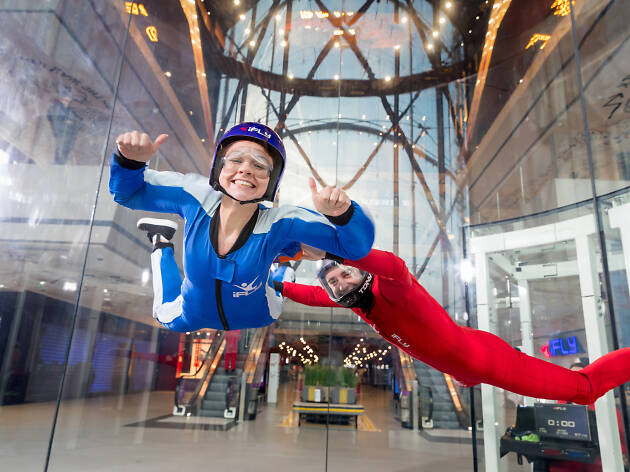 You can now go indoor skydiving in Melbourne