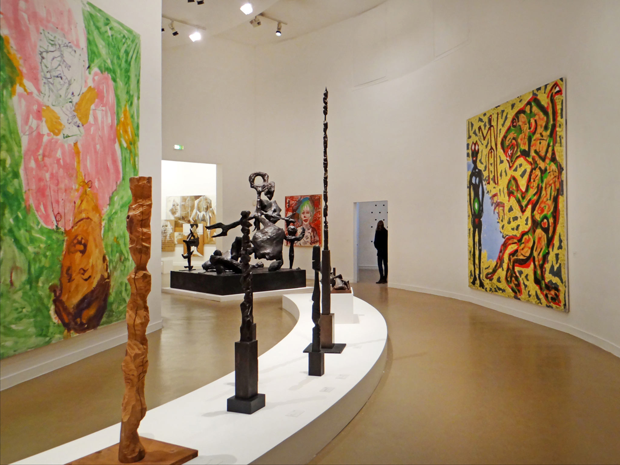 An exhibition at the Musée d'Art Moderne de la Ville de Paris