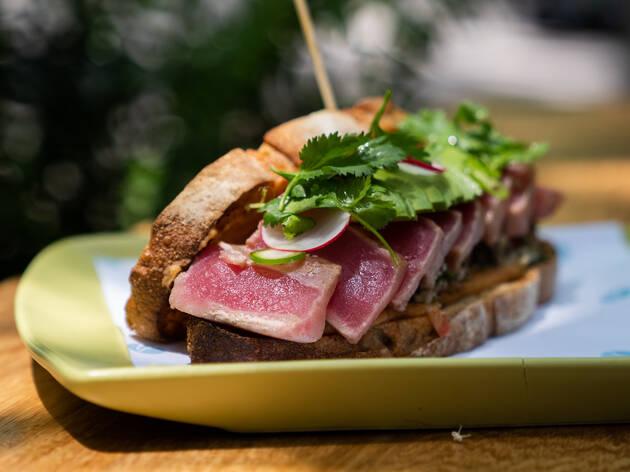 Canica, sándwiches del chef Rodrigo Carrasco en la Roma