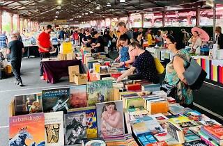 Melbourne Book Market Queen Victoria Market