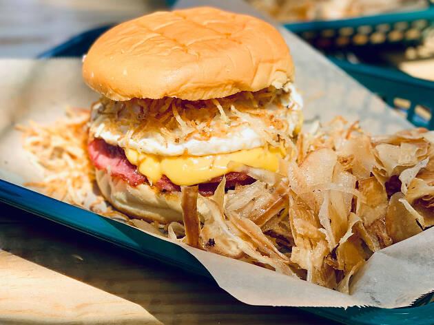 Chug's breakfast sandwich