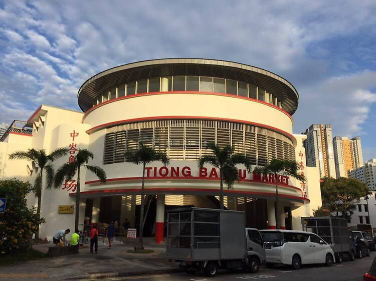 Queue for the best hawker food at Tiong Bahru Market