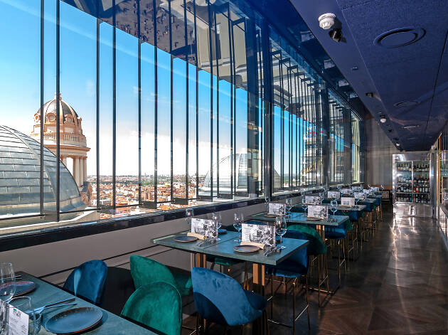 Restaurantes Con Vistas Espectaculares De Madrid