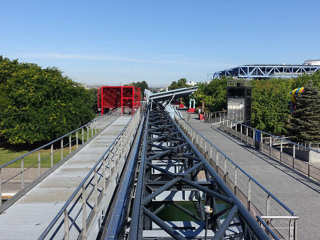 Parc de la Villette in the 19th arrondissement of Paris