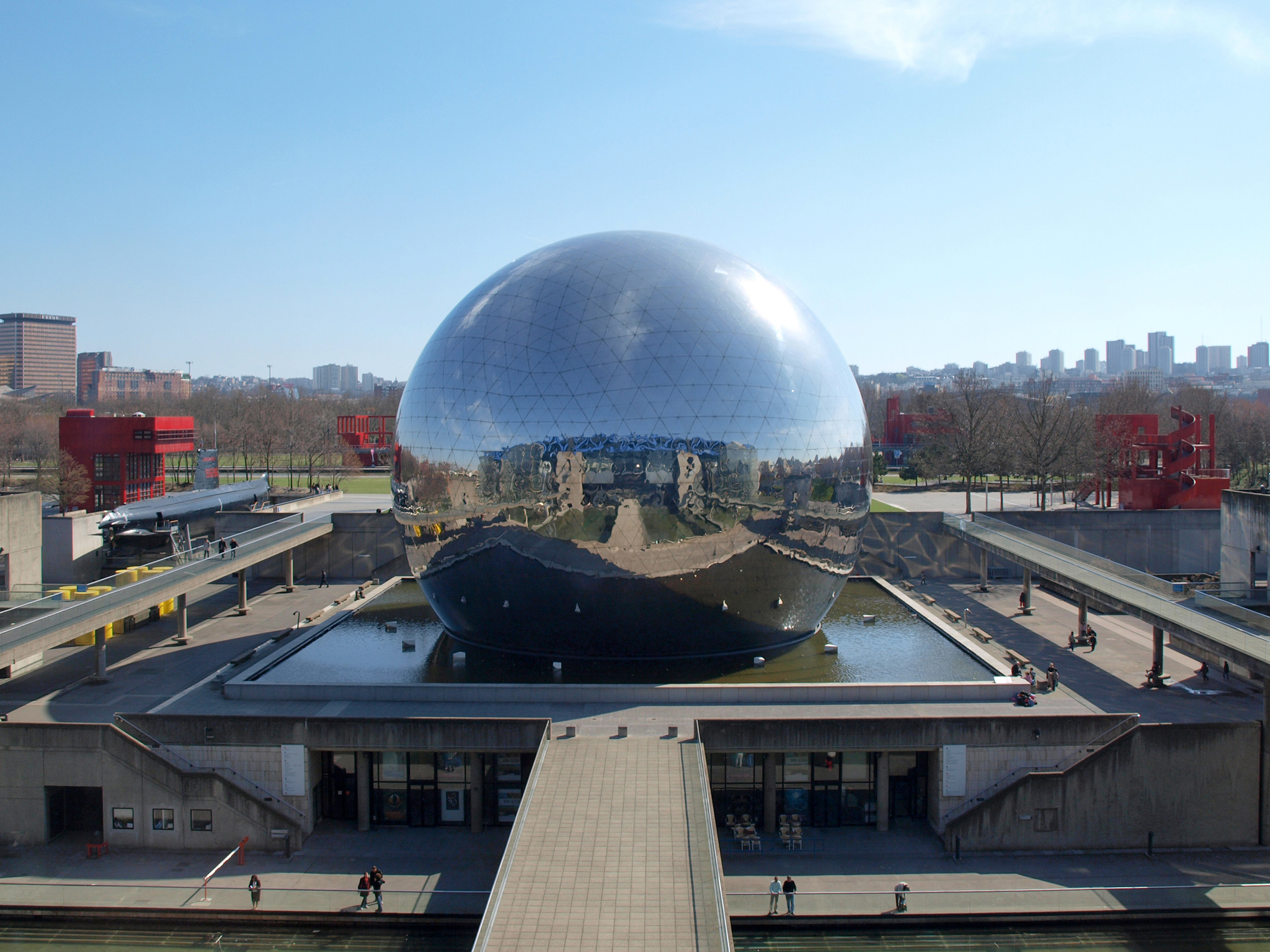 Cité des Sciences et de l'Industrie in Parc de la Villette in Paris