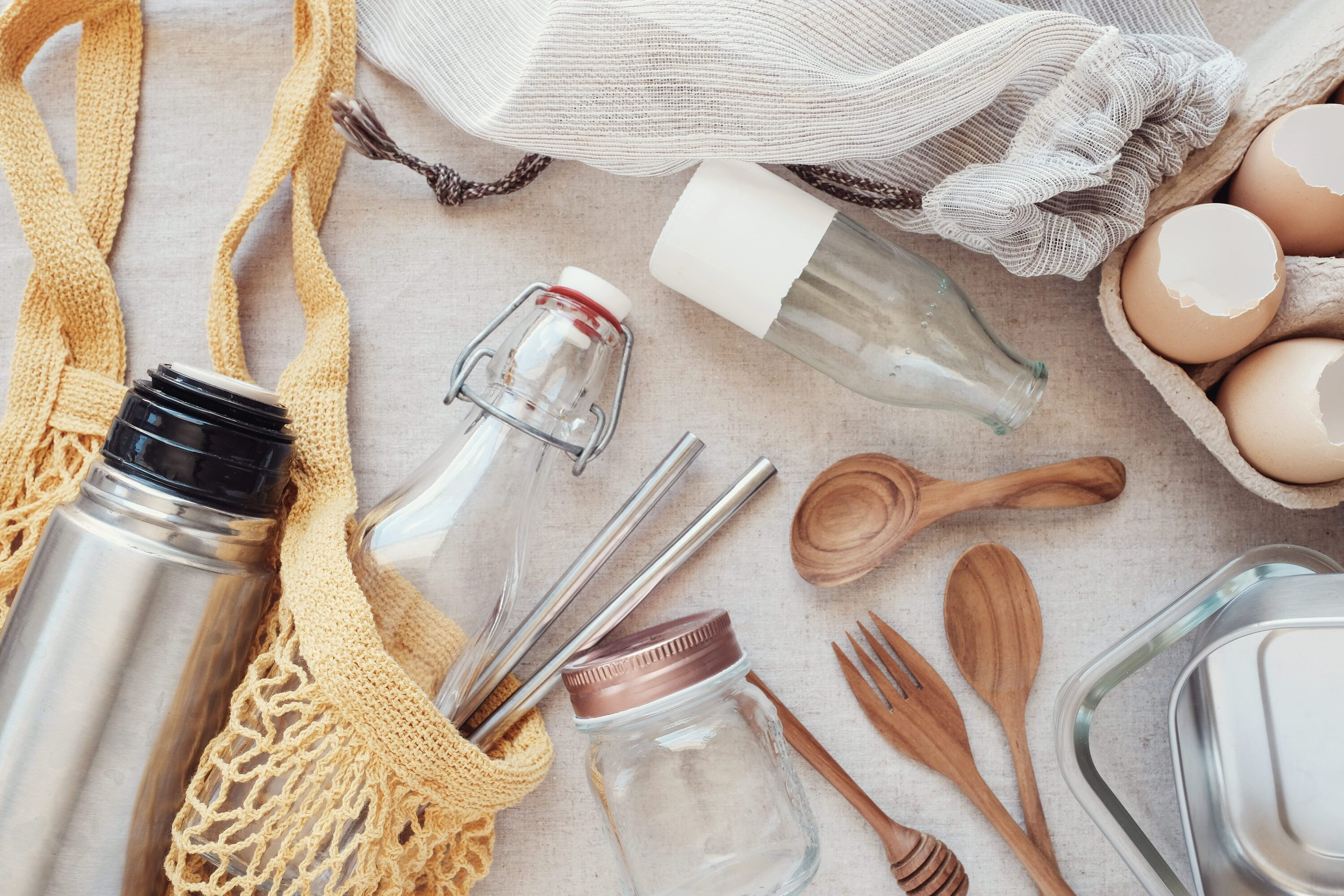 5 simple ways to reduce plastic usage  (and save money too)