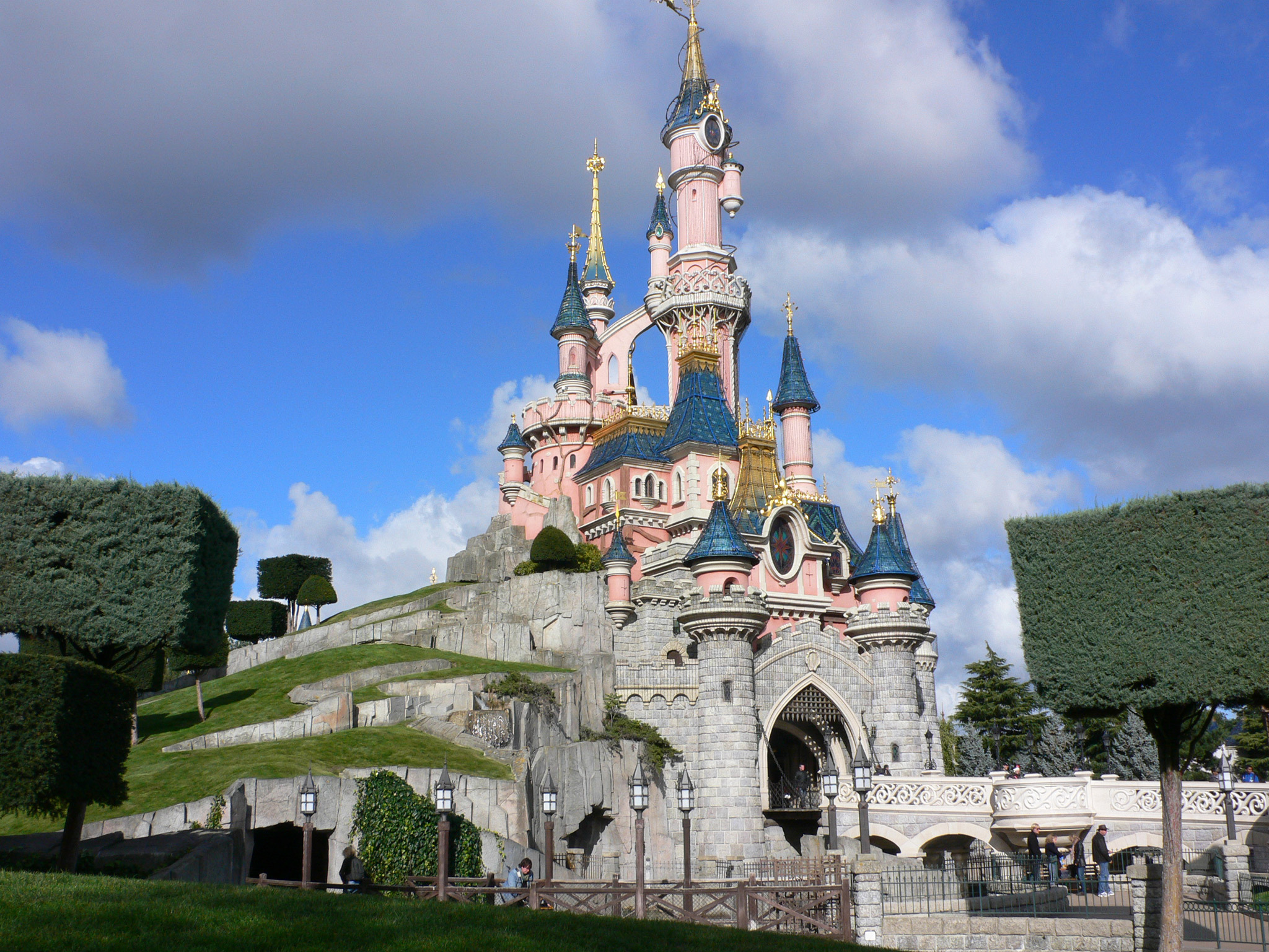 Sleeping Beauty's castle at Disneyland Paris