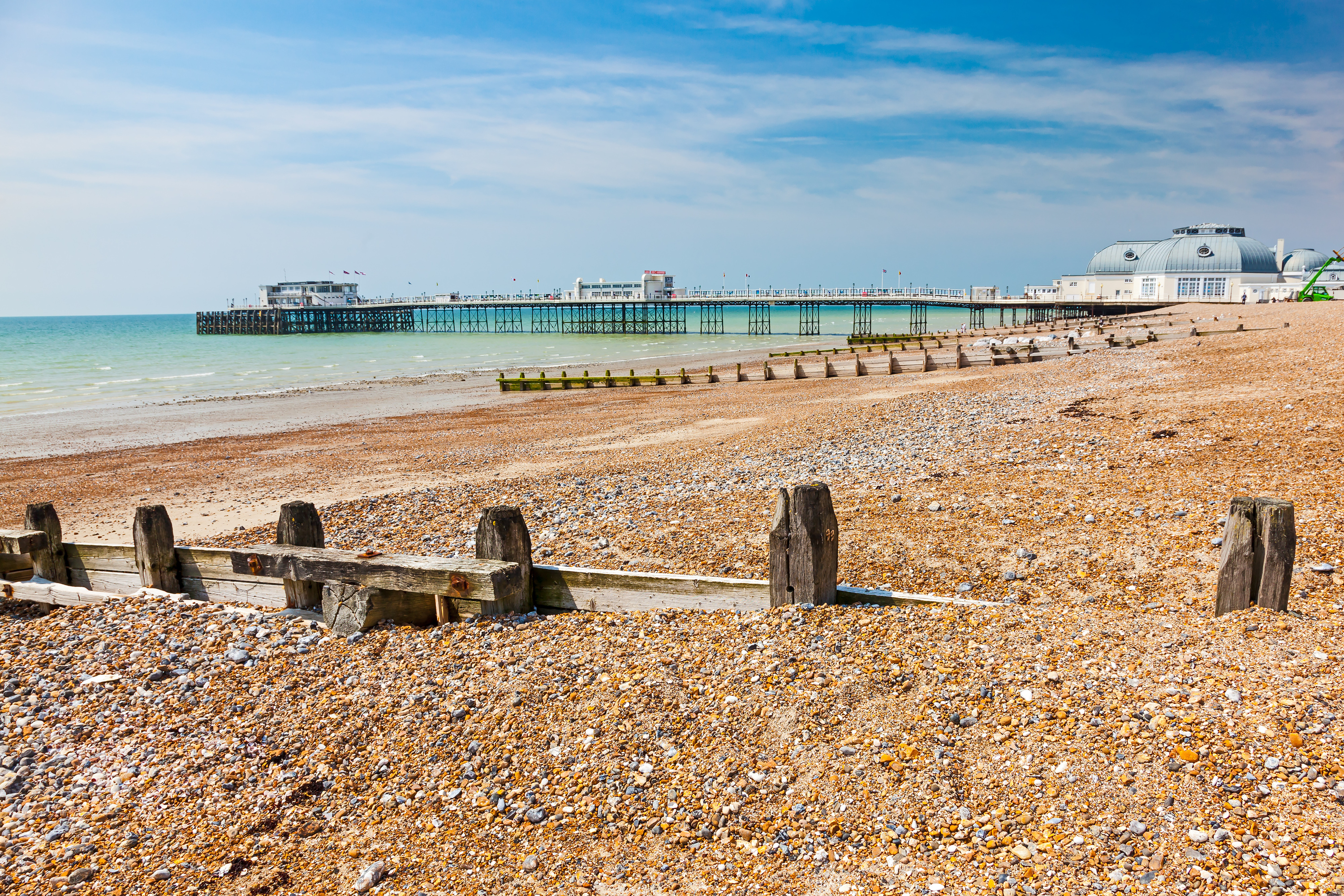 Worthing West sussex beach