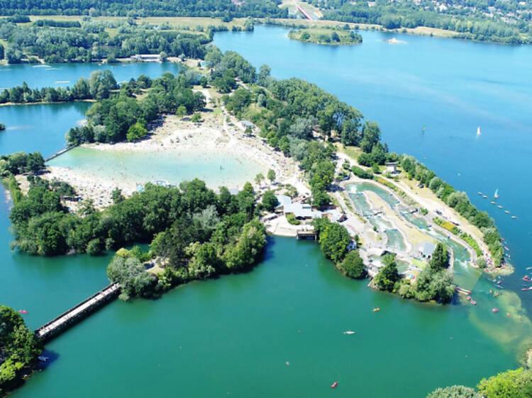 La base de loisirs de Cergy-Pontoise