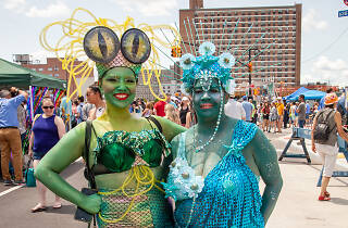 See photos of the 37th Annual Coney Island Mermaid Parade