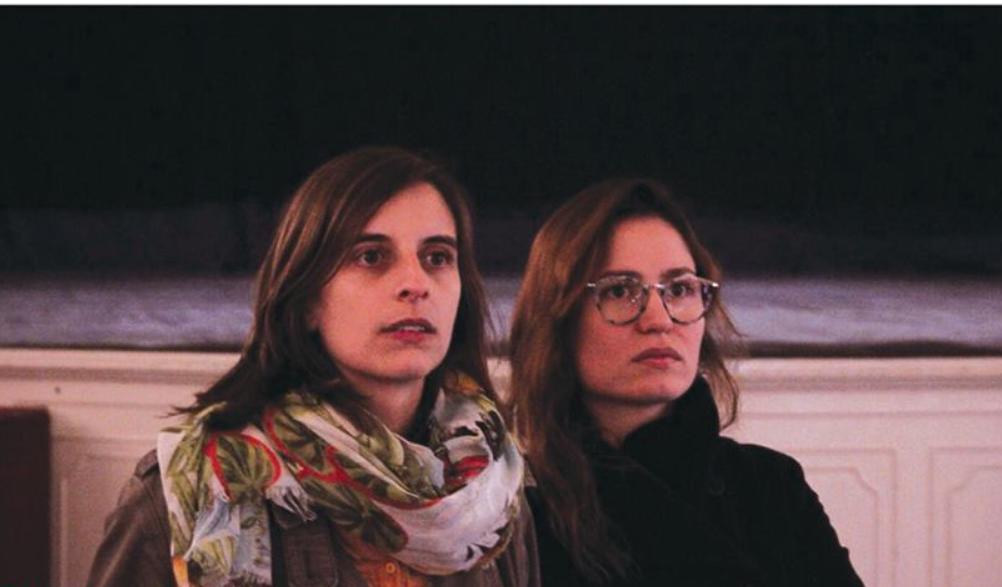 Madalena Palmeirim e Sara Carinhas levam-no numa viagem pela sua cumplicidade pessoal e profissional