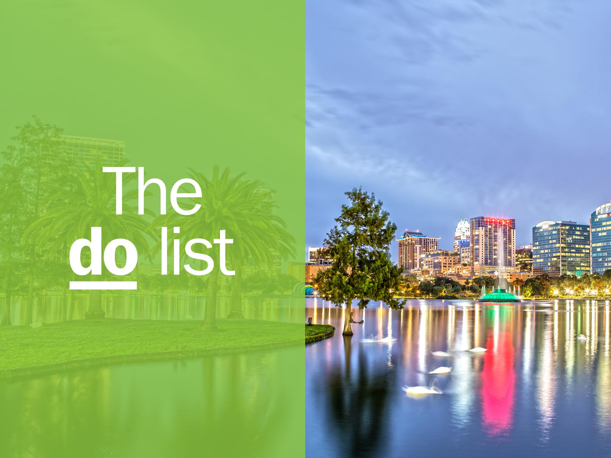 Orlando DO list