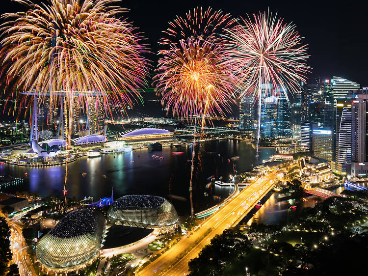 The best places to catch fireworks for free on National Day