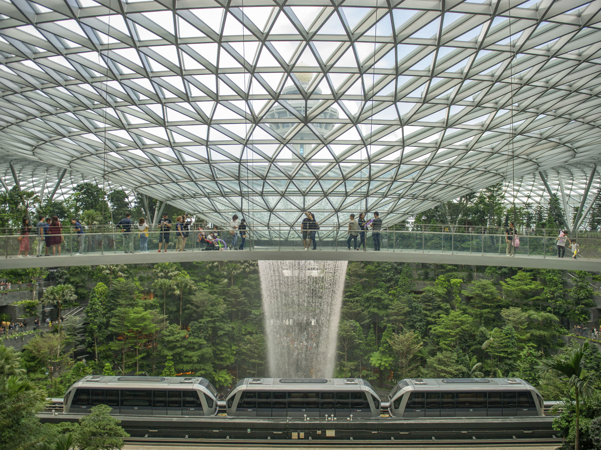 Have you seen Singapore's insane tropical airport?